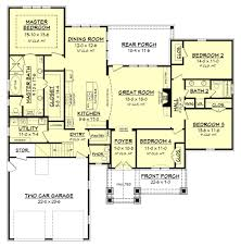 country style house plan 4 beds 2 50 baths 2329 sq ft plan 430 151
