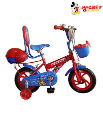 Mickey Mouse Bicycle 16 Inches Buy line at Best Price on Snapdeal