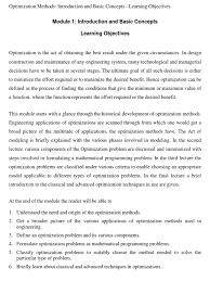 curso nptel optimization methods mathematical optimization