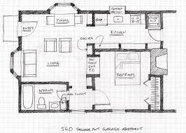 Apartment Blueprints Small Scale Homes Floor Plans For Garage To Apartment Conversion