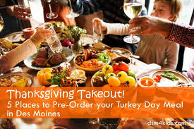 thanksgiving takeout 5 places to pre order your turkey day meal
