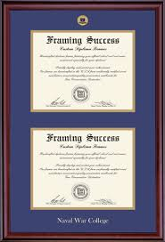 framing diplomas products naval war college foundation store
