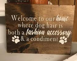 pets welcome etsy
