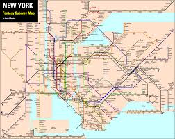 Subway Map by Fantasy Nyc Subway Map With Subway Lines In Nj Newjersey