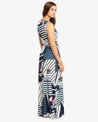 summer dresses uk phase eight natalie stripe maxi dress multi coloured 96 viscose