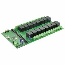 16 channel usb relay module with gpio and inputs numato lab