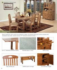 Dining Room Tables With Built In Leaves Prices U2022 Sunny Designs Sedona Over 60