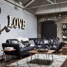Corner Sofa Living Room Wylie Leather Corner Sofa Wyatt Black Corner Sofas Living Room