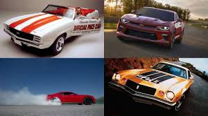 chevy camaro through the years the history of the chevrolet camaro in pictures