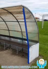 panchina di calcio angolare di protezione paraspigolo per panchina calcio impianto