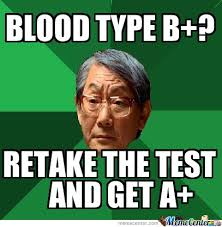 Blood Meme - asian dad on blood types by bifi323 meme center