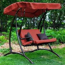 swing with canopy patio swing with canopy porch outdoor for adults