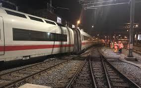 Basel Bad Bf Bahnverkehr Nach Ice Entgleisung In Basel Sbb Auch Am Donnerstag