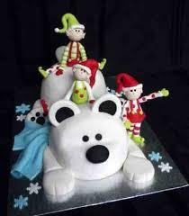 christmas cakes elves and cupcake ideas