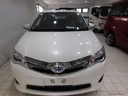toyota white car used toyota axio pearl white 2013 axio pearl white for sale