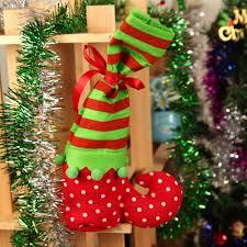 xmas decor christmas gift candy bags santa claus sock stocking