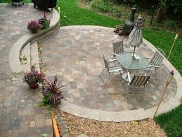 phenomenal backyard paver patio outdoor building ideas door patio Patio Brick Pavers
