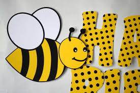 bumble bee decorations bumble bee birthday banner honey bee party decorations bug