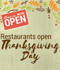 restaurants open on thanksgiving day dekalb county convention
