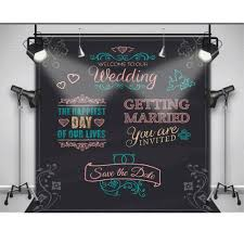 wedding backdrop chalkboard only 25 00 text can be changed wedding photography background