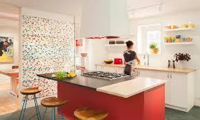gray and yellow kitchen decor lighting fixtures big cream tile