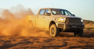 Ford Ranger Truck Names - ford ranger raptor breaks cover in australian desert test