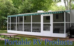 Rv Retractable Awnings Dura Bilt Portable Rv Awnings U0026 Screen Rooms Camp Pinterest