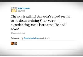 amazon cloud black friday amazon ec2 cloud outage downs reddit quora apr 21 2011