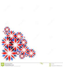 Englang Flag Celebratory Card With England Flag Colors Stock Illustration