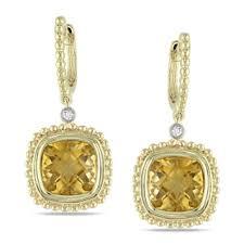 citrine earrings citrine clip on earrings shop the best deals for nov 2017