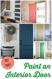 try this 8 colors you can paint an interior door interior door