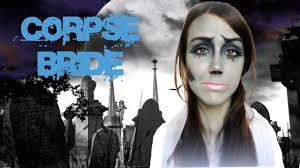 Halloween Makeup Corpse Bride La Sposa Cadavere Corpse Bride Halloween Make Up Tutorial 19 Youtube