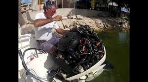 evinrude engine wont start properly youtube
