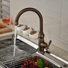 antique brass kitchen faucet cheap wholesale and retail promotion antique brass swivel