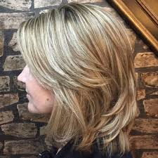 hair styles where top layer is shorter 70 brightest medium length layered haircuts and hairstyles