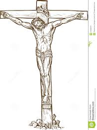 jesus christ hanging on the cross stock images image 12935044