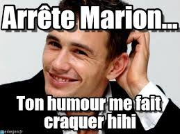 arrête marion james franco meme on memegen