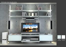 tv entertainment center modern living room miami by modu