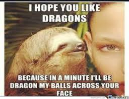 Sloth Jokes Meme - dragon sloth meme sloth best of the funny meme