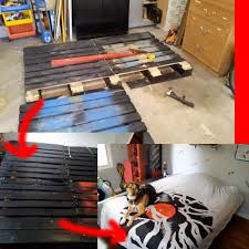 how to make bed frames from used pallets