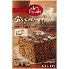 amazon com betty crocker cake u0026 cookie mix gingerbread 14 5 oz