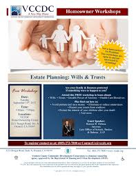 California Durable Power Of Attorney For Finances by Upcoming Events Vccdc U2013 Estate Planning Workshop Ventura