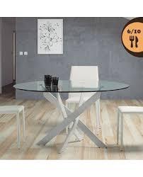 Table Repas Style Industriel by Une Table Ronde Dans Le Sejour Table Ronde 6 Chaises Achat Vente