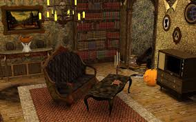 classic halloween wallpaper mod the sims halloween funeral house