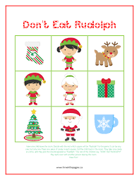don u0027t eat rudolph super fun game for your little ones