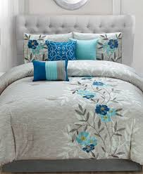 krissa embroidered 7 king comforter set bed in a bag bed