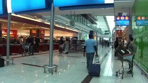 inside dubai international terminal 3 airport youtube