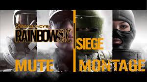 rainbowsix siege mute twitch gameplay montage pt 1 youtube