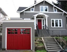 best 25 red garage door ideas on pinterest cedar garage door