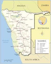Botswana Map Maps Of Namibia Bizbilla Com